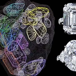 Graff Unveils First 67 Diamonds Cut From the 1,109-Carat Lesedi La Rona