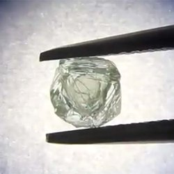 Alrosa Mining Company Posts Video of What May Be a Diamond in a Diamond