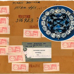 In 1958, Hope Diamond Was Sent From NY to DC Via Registered Mail for $2.44 in Postage