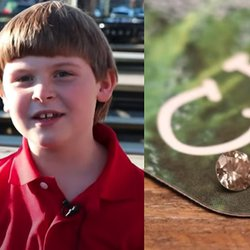 7-Year-Old Finds a Diamond and Inspires the Journalist Who Got It Back